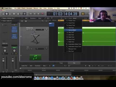 Transitions into Drops Logic Pro X [Alex Rome]