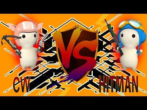 HITMAN VS CW - Death Map [MilkChoco Clan Battle]