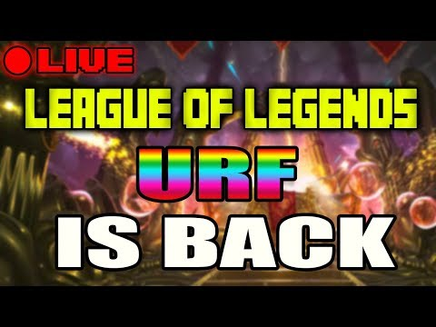 URF IS BACK 2018! TF 1 SEC Q'S AND 1 SEC W'S! - League of Legends