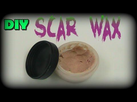 DIY Special Effects Scar Wax - EASY
