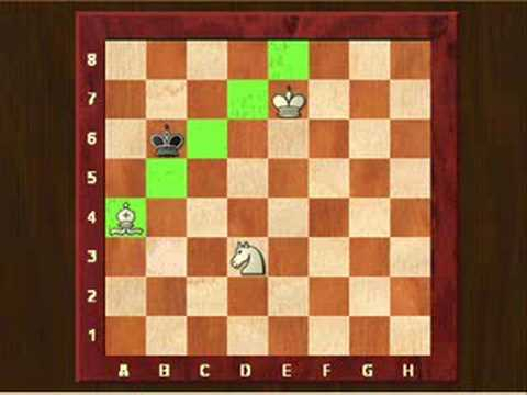 Chess: Check mate with knight and bishop