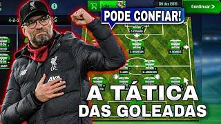 A tática das goleadas!   soccer manager 2020