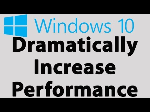 How To Make Windows 10 Faster, Decrease Boot Time & Increase Performance