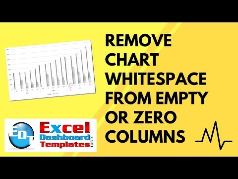 Remove Excel Chart Whitespace from Empty or Zero Columns (Part 1)
