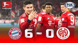 Bayern Múnich - Mainz 05 [6-0] | GOLES | Jornada 26 | Bundesliga