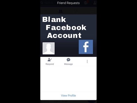 How to create an invisible or blank Facebook account latest method(2017)