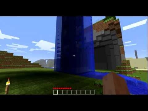 Minecraft - Sky City 5 - Piston Elevator 'Glacier'