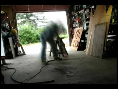 Making the insulated storage compartment doors # 1