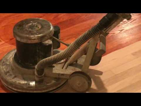 How to refinish hardwood floors part-2(staining )