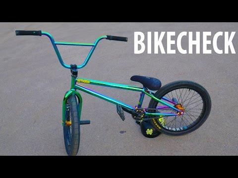 MY BMX BIKE CHECK 2017!