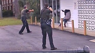 Dashcam Captures Police Shootout in Escambia County, Florida