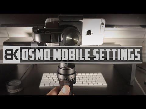 DJI Osmo Mobile Settings (In-Depth Walkthrough)