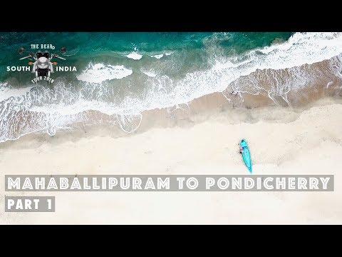 Mahabalipuram to Pondicherry - South India Bike Tour - Part 1