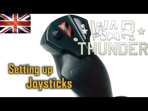 How to Setup a Joystick for War Thunder Video (English)