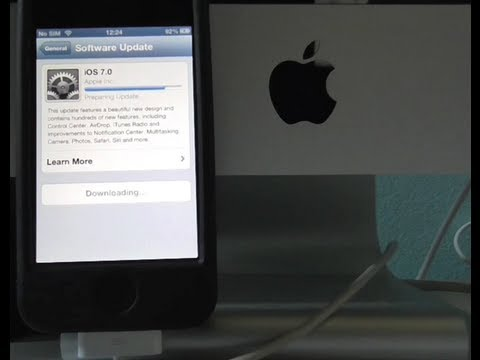 How to Update iPhone 4/iPhone 4s over Wi Fi