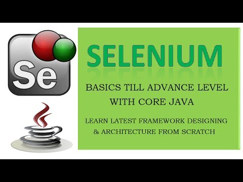 Lecture 1 - Core Java Introduction - Java essentials for Selenium