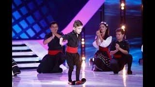 Andrei Coman i-a dat pe spate pe jurați. Momenul său de dans grecesc i-a lăsat cu gura căscată