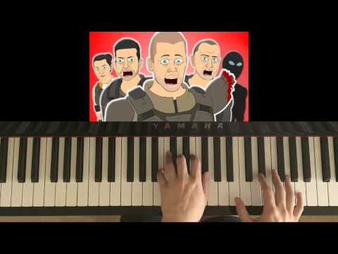 How To Play -  ♪ BLACK OPS 3 THE MUSICAL - lhugueny (Piano Tutorial)
