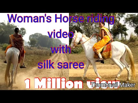 Xxx Mp4 Women 39 S Horse Riding And Rounding Entire Village With Silk Saree 3gp Sex
