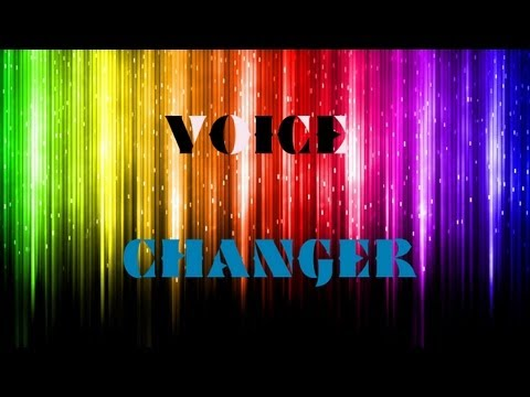 How To: Change your voice on Skype