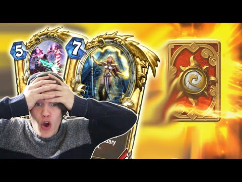160 Grand Tournament Packs - GOLDEN LEGENDARY!!! - Hearthstone Pack Opening