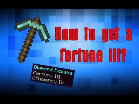 How to get a fortune III pickaxe?