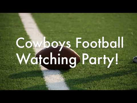 🤠Cowboy Football Watching Party - Dave & Busters - Nov 5 2017