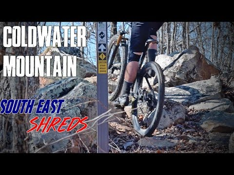 Longest downhills in Alabama! | Mountain Biking at Coldwater Mtn