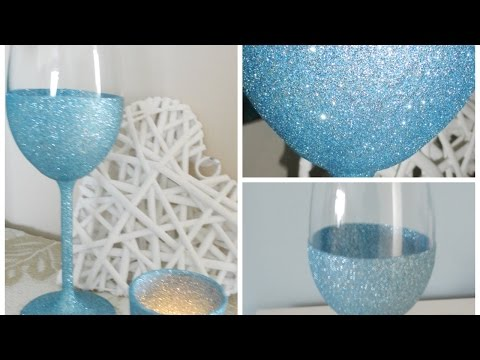 How To Make your own Sparkling Wine Glasses - DIY Crafts Tutorial - Guidecentral