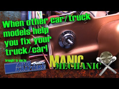 Get Parts for Your Car or Truck Using Other Models of Vehicles  Episode 32 Manic Mechanic