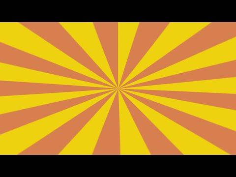MultiColor swirl vortex effect - Photoshop tutorials - Easy comic book background - Starburst Effect
