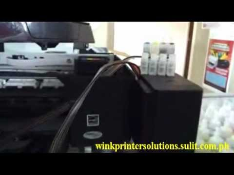 Epson SX130/TX121 Chipless CISS - Wink Printer Solutions