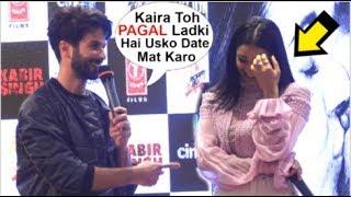 Shahid Kapoor Makes Fun Of Kaira Advani At Kabir Singh Mere Sohneya Song Launch
