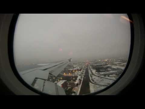 Take Off & Landing - Aruba to Toronto