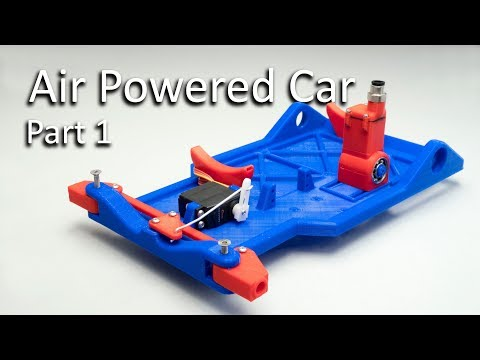 Air Powered Car - Part 1