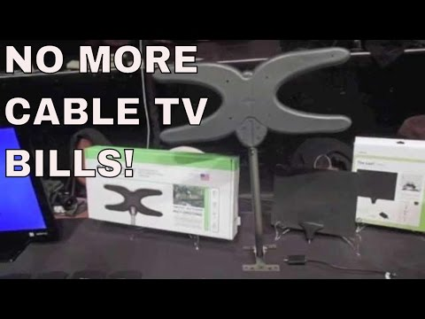 how I got rid of cable tv - MOHU house antenna setup - sky antenna cable tv alternatives