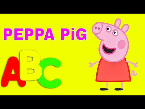 LEARN WORDS WITH PEPPA PiG FOR CHILDREN - SURPRISE EGG COLORS