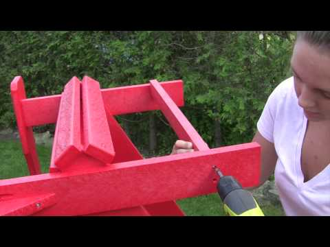 Adirondack Chair Assembly from CR Plastic