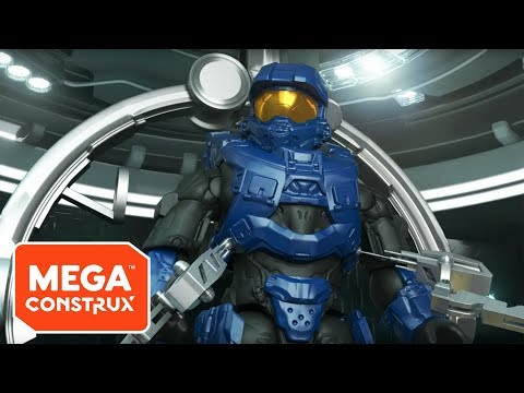Spartan Mark VI Gets Battle-Ready | Halo | Mega Construx