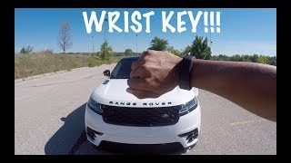 What happens if you try to STEAL a 2018 Range Rover Velar??? UNSTEALABLE