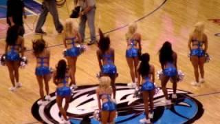 Dallas Mavericks Dancers Perform During Timeout Game 1 2010 Nba Playo
