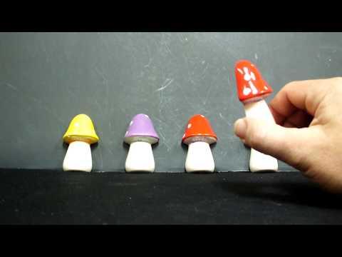 Smurf Pipe Hideaway Magnet Ceramic Pipe
