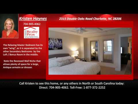 2315 Double Oaks Road Charlotte NC 28206 VIDEO REVISED