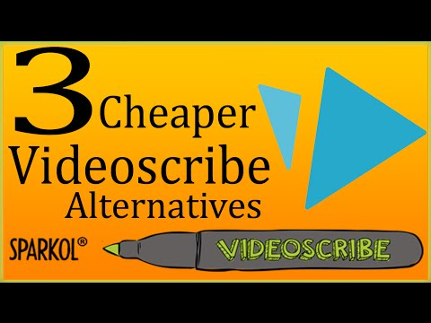 Videoscribe Alternatives   3 Video Scribe Software Cheaper Than Sparkol Videoscribe