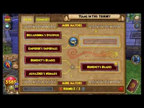 W101 Wizard101 Introduction to Tournaments Test Realm May 2013 arena PvP