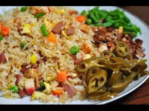 Special Yang Chow Fried Rice - 'Yang Zhou Chao Fan' with Shrimp | RecipesAreSimple