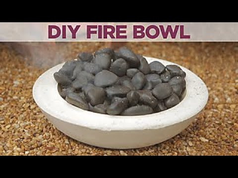 How to Make Your Own Fire Bowl - DIY Network
