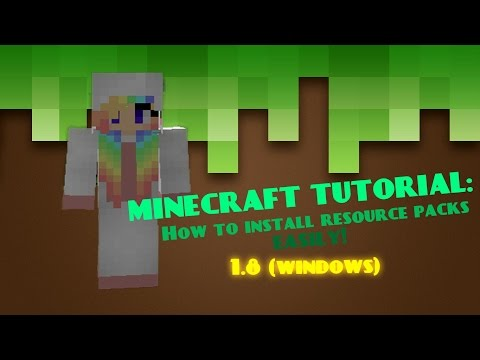 How to download resource packs on Minecraft easily! (Windows)
