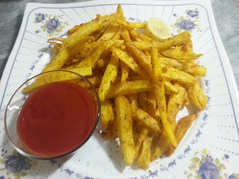 Easy And Crispy Finger Chips Recipe By Arshad