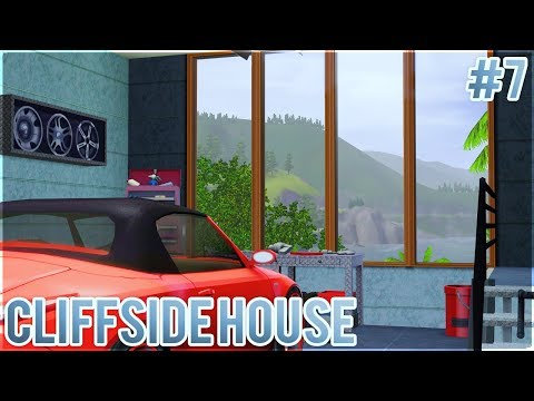 The Sims 3: Let's Build a Cliffside House (Part 7) Starting on the Interior!